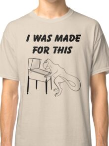 Why T-Rex has short arms! Pinball!  Classic T-Shirt