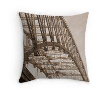Runcorn Bridge Throw Pillow