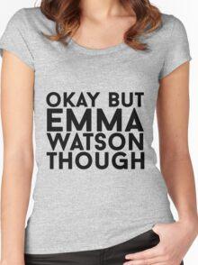 Emma Watson Women's Fitted Scoop T-Shirt