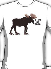 "Sam Winchester - Supernatural - ""I lost my shoe"" T-Shirt"