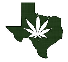 Marijuana Leaf Texas by surgedesigns