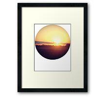 Saturday Sunsets Framed Print