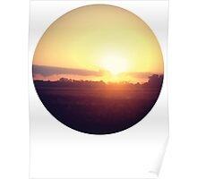 Saturday Sunsets Poster