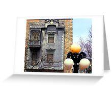 juliet's facade Greeting Card