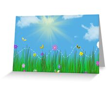 Hopping By Greeting Card