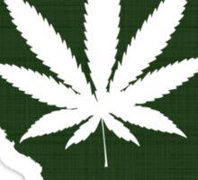 Marijuana Leaf South Carolina Sticker