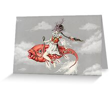 Red Fish Greeting Card