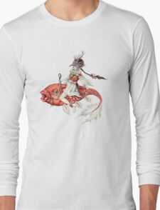 Red Fish Long Sleeve T-Shirt