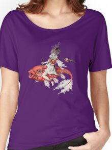 Red Fish Women's Relaxed Fit T-Shirt