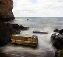 The old slipway at Staithes by PaulBradley