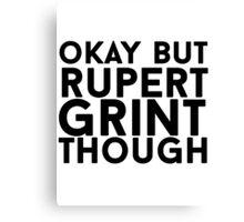 Rupert Grint Canvas Print