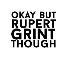 Rupert Grint Photographic Print