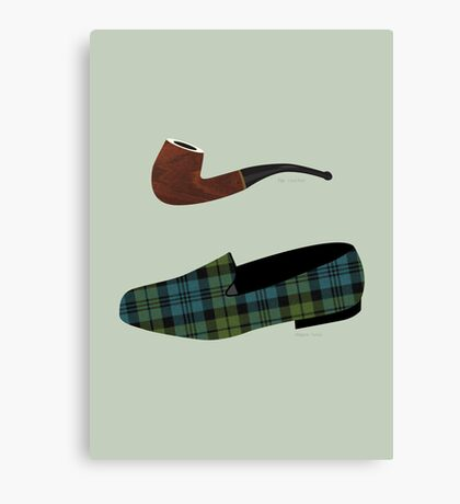 Pipe and Slippers Canvas Print