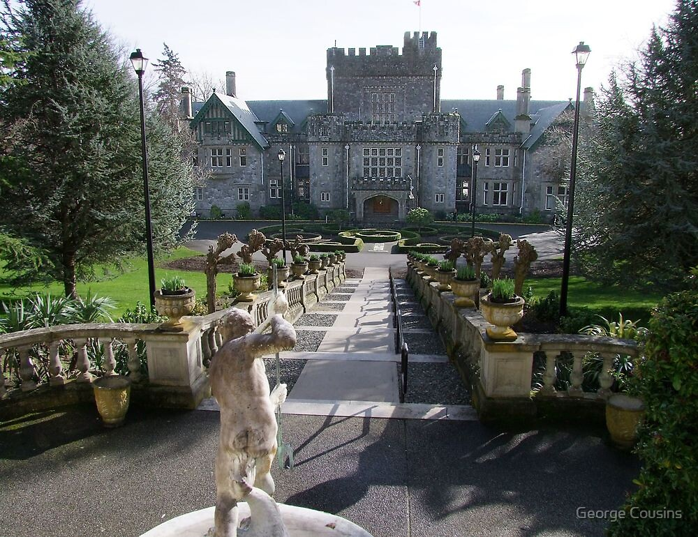Hatley Castle, North Side by George Cousins