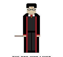 Harry Potter 'The Boy Who Lived' 8-bit by cmonskinnylove