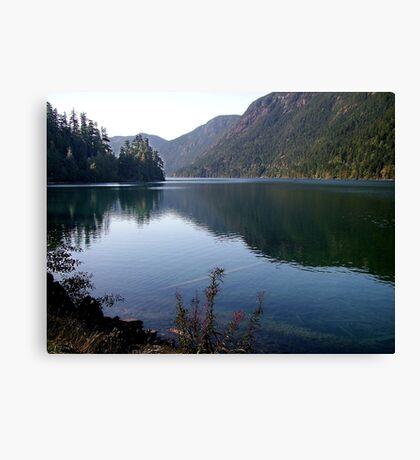 Cameron Lake,Vancouver Island Canvas Print