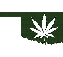 Marijuana Leaf Oklahoma by surgedesigns