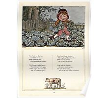 Under the Window Pictures and Rhymes for Children Edmund Evans and Kate Greenaway 1878 0050 Little Fat Goblin Poster