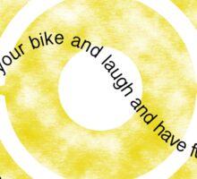 Just Ride Your Bike Sticker