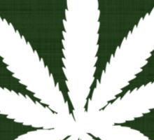 Marijuana Leaf Ohio Sticker