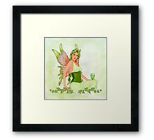 Absinthe the Green Fairy Framed Print