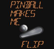 """Pinball Makes Me Flip""  by Sharon Murphy"