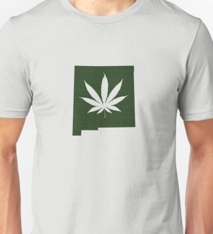 Marijuana Leaf New Mexico Unisex T-Shirt