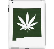 Marijuana Leaf New Mexico iPad Case/Skin