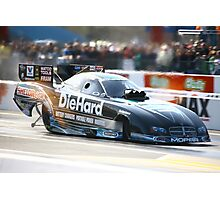 zMax Drag Strip 4 wide Photographic Print