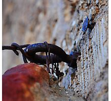 Bolt And Nail - The World Famous Baker Hotel - Mineral Wells Texas Photographic Print