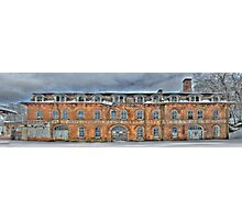 Old Factory Panorama along The Hudson River Photographic Print