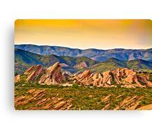 Vasquez Rocks, CA Canvas Print