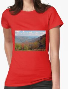 There is a Season Womens Fitted T-Shirt