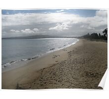 Dromana Beach After Autumn Rain Poster