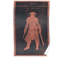 Skyrim Gaming Poster Poster