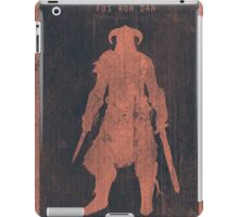 Skyrim Gaming Poster iPad Case/Skin