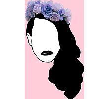 Lana Del Rey - Simplistic - Lips Photographic Print