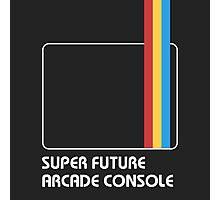 SUPER FUTURE ARCADE CONSOLE Photographic Print