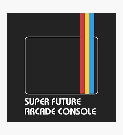 SUPER FUTURE ARCADE CONSOLE Photographic Print