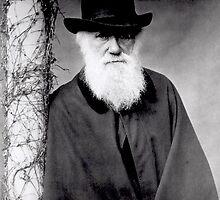 Charles Darwin by maxkraken