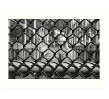 Chain Link Fence Art Print