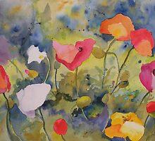 Poppy Meadow by Kay Smith