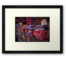 Candy For Sale Framed Print