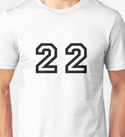 Twenty Two Unisex T-Shirt