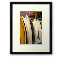 Vacation Time II - Hossegor, France. Framed Print