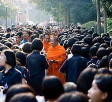 Supanaburi Monks, Thailand by Andrew Wilson