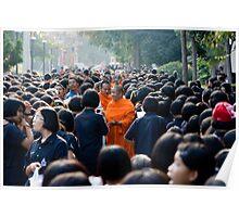 Supanaburi Monks, Thailand Poster