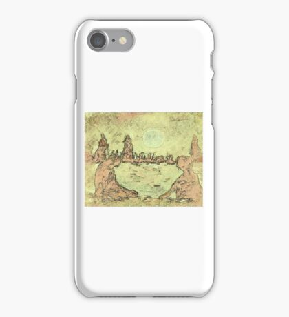 Sitting on the dock of the bay iPhone Case/Skin