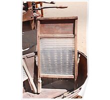 Washboard Poster