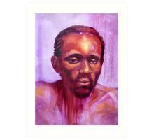 Portrait of Ngala Art Print